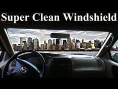 mproving windshield visibility usually entails cleaning off bird poop, dead bugs and general grime. But the streaky, filmy gook isn't always confined to the outside of the car. Car Cleaning Hacks, Deep Cleaning Tips, Car Hacks, Cleaning Solutions, Cleaning Products, Clean Car Windshield, Windshield Cleaner, Cleaning Car Windows, Cleaning Inside Of Car