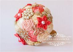 Attractive 100+ Sparkly Brooch Bouquet Wedding Ideas https://bridalore.com/2017/08/24/100-sparkly-brooch-bouquet-wedding-ideas/