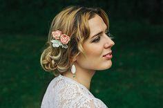 Bridesmaid Hair Accessories Bridesmaid Hair by DesignedByTanne