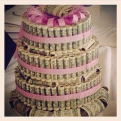 Money Gift... Money cake