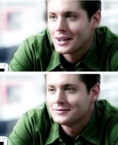 That  shirt with his eyes... makes me melt <3  1x20 Dead Man's Blood #SPN #Dean