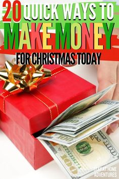 Are you looking for ways to make money for Christmas? Check out these 7 ways you can score free cash for the holiday season and start making money today. Make Money Online Surveys, Ways To Earn Money, Make Money Blogging, Money Saving Tips, Make Easy Money, Quick Money, Way To Make Money, Extra Money, Savings Planner