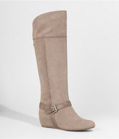 Shop for Tall Buckled Wedge Boot by Express at ShopStyle. Now for Sold Out.