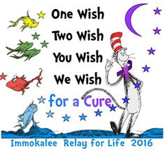 Immokalee Relay For Life, Friday April 8, 2016 6PM until 7AM Saturday April 9, 2016 Join us for the opening ceremony for Immokalee's Relay For Life event, Fri. April 8 at 6 p.m., Immokalee Sports Complex. Food, games and activities provide entertainment and build camaraderie in a family-friendly environment for the entire community. Join us …
