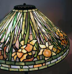 Original Louis Comfort Tiffany Lamps Daffodil a louis comfort
