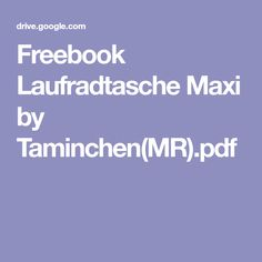 Freebook Laufradtasche Maxi by Taminchen(MR).pdf