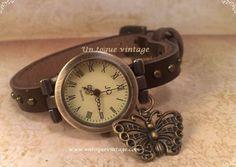 """Reloj Mariposa de """"Un toque vintage"""""""