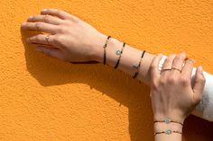 Shop elastic evil eye bracelets Gold Plated Bracelets, Gold Plated Rings, Gold Plated Necklace, Sterling Silver Bracelets, Rubber Bracelets, Evil Eye Charm, Evil Eye Bracelet, Bridesmaid Bracelet, Hamsa Hand