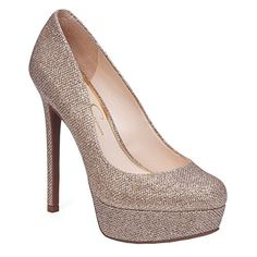 Jessica Simpson Womens Sandrah Dress Pump 8 BM US Gold *** Locate the offer simply by clicking the VISIT button