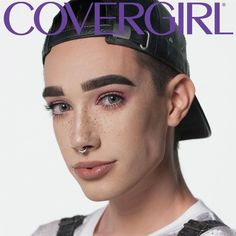 Male makeup gurus are having a moment, and James Charles, a 17-year-old YouTube sensation, is adding another, as CoverGirl's first cover boy.
