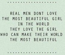 real love...make his world beautiful!