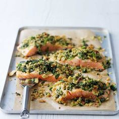 Salmon with Quick Cracker Crust