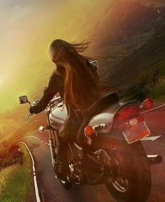 Adventure Travel:  Steel Cowgirl. #Photography #Motorcycles #Travel