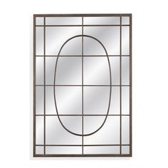 Bassett Mirror Boho Collection 50 InchW x 72 InchH Industry Leaner Floor Mirror with Metal Plywood Mirror Material in Weathered Bronze Leaning Mirror, Vanity Wall Mirror, Mirror Shop, Window Mirror, Round Wall Mirror, Floor Mirror, Tile Accent Wall, Kitchen Bath Collection, Contemporary Frames