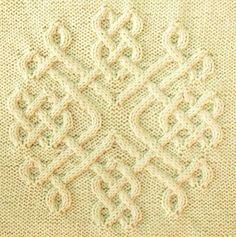 Ravelry Celtic Snowflake 30 Pattern By Devorgillas Knitting I Cable Knitting Patterns, Knitting Charts, Knitting Stitches, Knitting Yarn, Knit Patterns, Hand Knitting, Stitch Patterns, Stoff Design, Celtic Patterns
