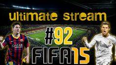 #92 - UltimateStream AGORA! - Montando Time e Jogando UT!