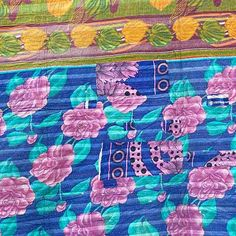 Picnic Blanket -Vintage Lightweight Beach Throw Blanket 6 Beach Blanket, Picnic Blanket, Kantha Quilt, Vintage Quilts, Cotton Quilts, Vintage Cotton, Hand Stitching, Biodegradable Products, Sewing