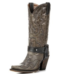 Women's Arizona Harness Boot - Distressed Gray