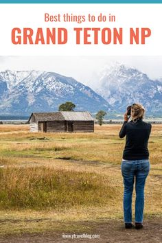 From enjoying the view of Jenny Lake, to hiking and exploring Inspiration Point and Hidden Falls - we've rounded up the BEST things to in Grand Teton National Park. Check it out on our blog! #NationalParks #RoadTripIdeas #USRoadTrips #FamilyTravel Family Vacation Destinations, Great Vacations, National Parks Usa, Grand Teton National Park, Thing 1, Adventure Tours, Best Hikes, Road Trip Usa, Sri Lanka