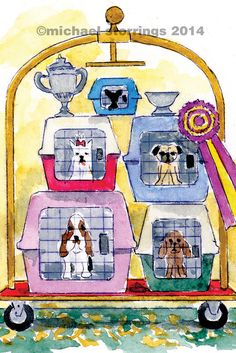 The Westminster Kennel Club Dog Show depicted in my book New York in Four Seasons. My Favorite Image, My Favorite Things, New York Winter, Dog Show, Westminster, Four Seasons, New Books, Kitty, Puppies