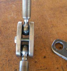 Ball welding clamps