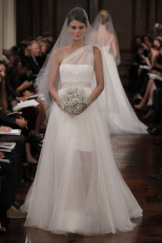 swooning over this illusion neckline with swiss dots - romona keveza