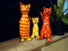 Artesanato: Como fazer um gato de garrafa pet