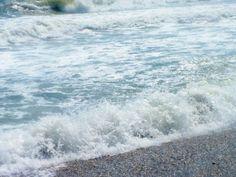 The boisterous waves of the East coast..