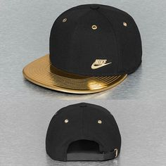 Nike Snapback Cap schwarz Herren Mode 4eb25f2f295b