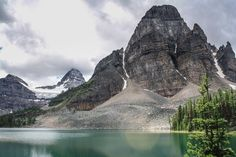 A different view of Mt. Assiniboine [3888  2592] [OC] #reddit