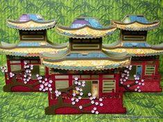 Creations by Patti: Asian Pagoda Card