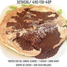 Tortita truña para desayunar  buenos días #familiafit