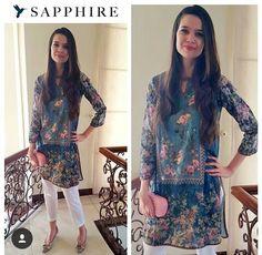 Pakistani kurta by Sapphire.