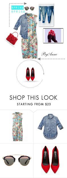 """""""SPRING !!!"""" by anne-977 ❤ liked on Polyvore featuring Madewell, Abercrombie & Fitch, Christian Dior, Jeffrey Campbell and Nancy Gonzalez"""