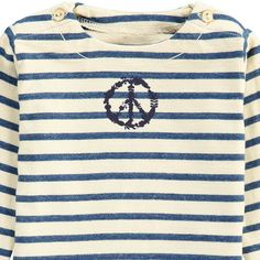 sweat-coton-bio-raye-marine-peace-bleu-marine