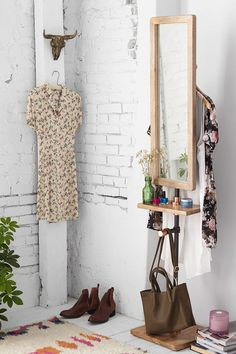 4040 Locust Industrial Storage Valet Stand | Urban Outfitters - what room would this NOT work in?