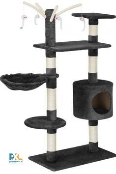 Obdarujte svého domácího mazlíčka skutečným kočičím rájem. Může si na něm skvěle odpočinout, protáhnout a hrát se, procvičit a naostřit si své drápky. Sisalovým vláknem omotaný škrábací strom a visící provázky se postarají o dostatek podnětů pro zábavu vašeho čtyřnohého společníka. Furniture, Home Decor, Decoration Home, Room Decor, Home Furnishings, Home Interior Design, Home Decoration, Interior Design, Arredamento