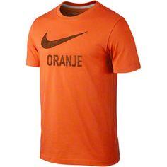 Netherlands Soccer Orange Nike Soccer Basic Type T-Shirt