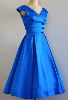 by ceil chapman see more ceil chapman 50s silk satin azure cocktail ...