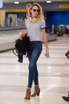 50 of the chicest celebrity airport outfits EVER