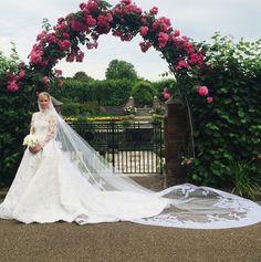 Nicky Hilton wedding pictures - marries James Rothschild wearing Valentino couture | Harper's Bazaar