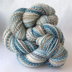 Dyed In The Wool represents the fulfillment of our desire, here at Spincycle headquarters, to merge the beauty and texture of a handspun yarn with a more efficiently produced millspun yarn. We found t