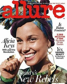 New cover in Allure!!! Alicia Keys @Regrann from @paulamendozajewelry - No make up no words PM Jewels and one amazing cover with the most beautiful woman @aliciakeys for @allure wearing #academiaring and #Hum_1Earrings #pmxec #paulamendoza #paulamendozadotcom #ecxpm __________ #DeJoyaEnJoya #FromJewelToJewel #AliciaKeys #AllureMagazine #allure #cover #CoverGirl #portada #ChicaDePortada #InstaJewels #JewelryGram #earrings #rings #InstaEarrings #InstaRings #pendientes #anillos #beautiful…