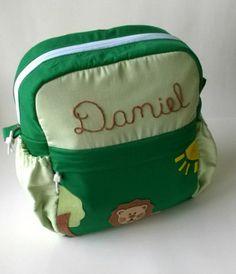 mochila infantil de tecido para meninos