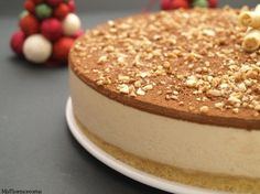 Tarta de turrón de Jijona - MisThermorecetas Thermomix Desserts, No Bake Desserts, Delicious Desserts, Spanish Desserts, Spanish Dishes, Sweet Recipes, Cake Recipes, Dessert Recipes, Nougat Torte
