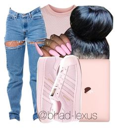 """ complicated."" by bhad-lexus ❤ liked on Polyvore featuring Topshop and adidas"