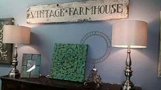 Vintage, farmhouse