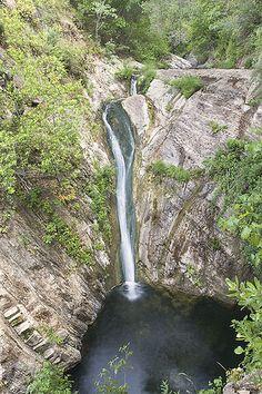 Along Big Falls Trail, Lopez Canyon, San Luis Obispo, California by Bill Bouton