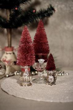 Christmas Minis, Christmas Time, Vintage Christmas, Christmas Wreaths, Christmas Crafts, Etsy Christmas, Pink Christmas, Christmas Snowman, Christmas Ideas
