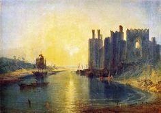J.M.W. Turner, Caernarfon Castle